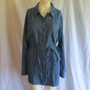Isabel Chambray maternity top nwot